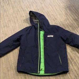 NFL Seattle seahawks coat M